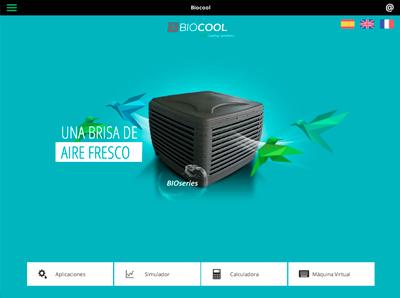 menu app biocool