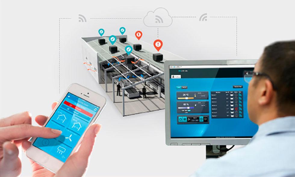Smart City Cooler control avanzado