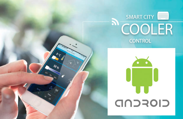 Smart City Cooler Control Android