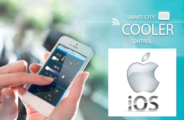 Smart City Cooler Control IOS